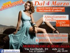 GDA Stockhouse a Montignano di Senigallia: dal 4 marzo 2017 abbigliamento firmato uomo/donna a prezzi imbattibili