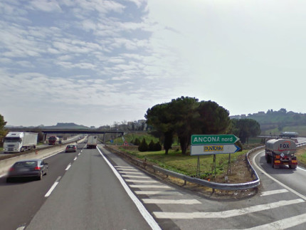 Casello A14 Ancona-Nord