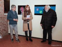 L'inaugurazione dell'esposizione di fotografie di Pasquale Proia alla galleria Expo ex di Senigallia