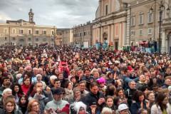 Il Carnevale 2017 in piazza Garibaldi a Senigallia