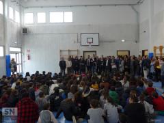Riapertura palestra scuola Marchetti: discorsi dopo l'inaugurazione