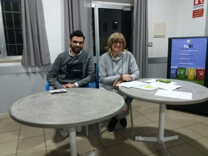 Jacopo Fattorini e Ilaria Ramazzotti hanno parlato di TaRi al Circolo Di Vittorio