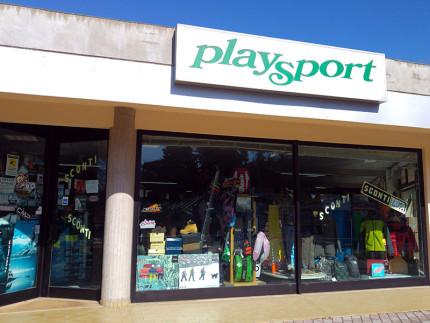 Play Sport Corinaldo, esterno del punto vendita