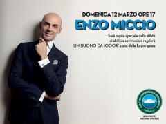 Enzo Miccio al Centro Commerciale Ipersimply Senigallia