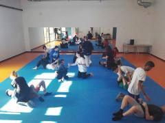 Lo stage di ju jitsu all'Ipsia Padovano di Senigallia con l'associazione Ludi e Victoria