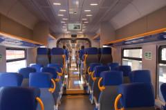 Il nuovo treno jazz in servizio sui binari della regione Marche