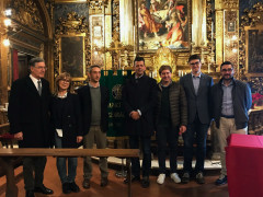 Conferenza di Baccarini alla Chiesa della Croce