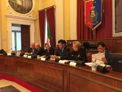 La presentazione del Testo Unico Amianto nella sala consiliare di Senigallia