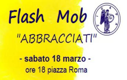 Abbracciati-Flash mob