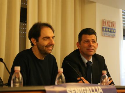 Neri Marcorè e Maurizio Mangialardi