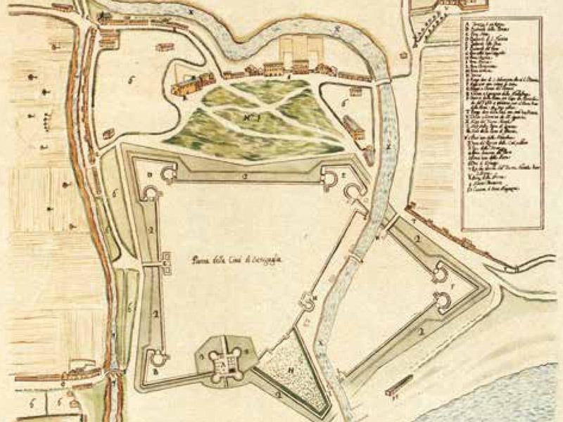 La mappa dell'antica Sinigaglia, Senigallia