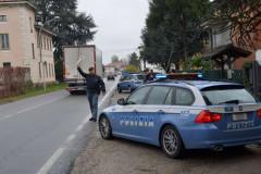 Polizia, posto di blocco stradale, 113
