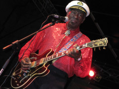 Chuck Berry al Summer Jamboree 2010