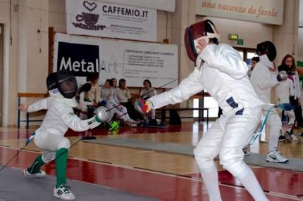 Le gare regionali di scherma svolte a Senigallia