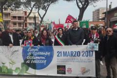 Anche Senigallia alla manifestazione per Libera e per le vittime della mafia a Grottammare