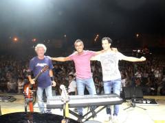 I Musaico (Marco Petrucci alla voce, Renzo Ripesi alla chitarra e Claudio Marchetti alle tastiere)