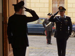 Incontro tra il Generale Ciceri e il Maggiore Bucci