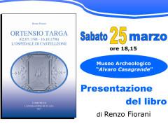Presentazione libro su Ortensio Targa
