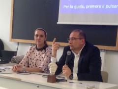 I relatori Crinelli e Paradisi