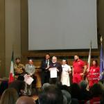 Il Comitato CRI di Senigallia festeggia i suoi 70 anni: il riconoscimento a Paolo Pizzi