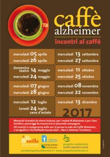 Il calendario degli incontri 2017 del Caffè Alzherimer a Senigallia
