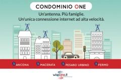 Wispone presenta Condominio One. Un'antenna. Più famiglie.
