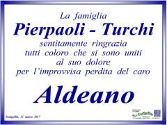 Ringraziamenti famiglia Pierpaoli-Turchi