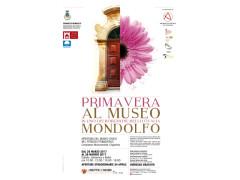 Locandina Prmavera al museo Mondolfo 2017