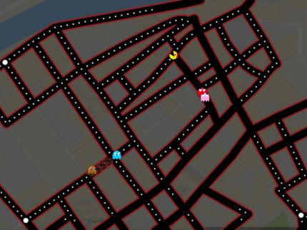 Google Doodle: Pac-man sulle strade di Senigallia
