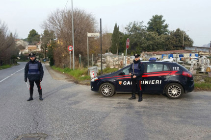 I controlli dei Carabinieri lungo le strade di Senigallia