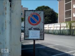 Chiude parcheggio Ex Arena Italia