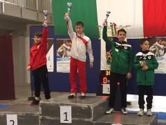 Club Scherma Montignano-Marzocca-Senigallia: podio per Michele Bucari e Simone Santarelli (a destra) nel fioretto alle gare interregionali di Assisi
