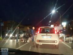 L'incidente a Marzocca di Senigallia