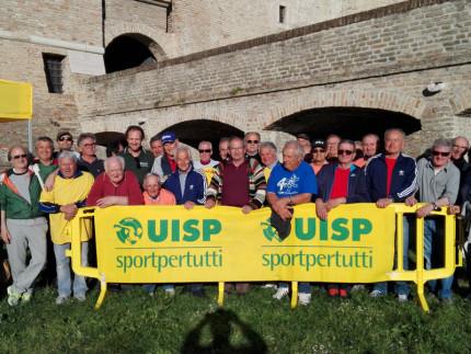 Le premiazioni del trofeo del Palio Uisp 2017 alla Rocca roveresca di Senigallia