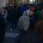 Manifestazione in centro contro Casa Pound