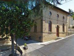Castelleone di Suasa, la palestra della scuola primaria della città