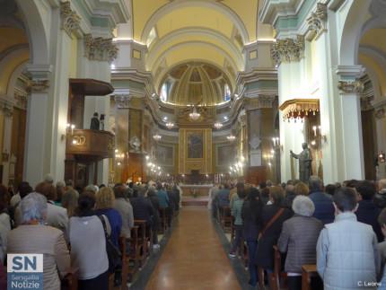 Duomo affollato a Senigallia per la riapertura dopo il terremoto del 18 gennaio 2017