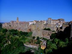 La località di Pitigliano, in Toscana