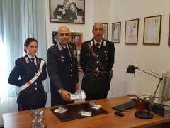 La droga sequestra dai Carabinieri di Senigallia