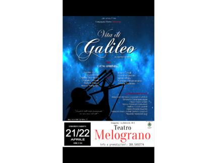 Vita di Galileo di Bertolt Brecht al Teatro Nuovo Melograno
