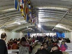 Lo stand alla festa dei folli 2016 di Corinaldo