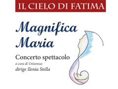 Il volantino del concerto presso il Santuario della Madonna della Rosa di Ostra