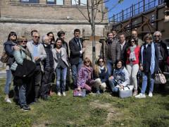 La donazione di un tiglio dal Rotaract di Senigallia per la Giornata della Terra 2017