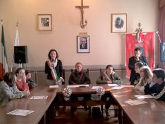 Trecastelli ha celebrato la Festa della Liberazione con gli studenti dell'istituto Nori De' Nobili