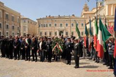 25 aprile 2017: celebrata a Senigallia la 72esima festa della liberazione