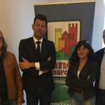 Renzo Perticaroli, Maurizio Mangialardi, Daniela Barbaresi e Marco Ferracuti