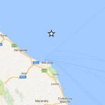 sisma di lieve entità davanti alla costa marchigiana