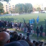 FC Senigallia - Barbara: esultanza dopo il gol del momentaneo pareggio