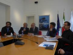Presentazione fosforo 2017: Mattia Crivellini, Sauro Longhi, Antonio Mastrovincenzo, Flavio Corradini, Mauro Pierfederici