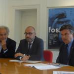 Presentazione fosforo 2017: Sauro Longhi, Antonio Mastrovincenzo, Flavio Corradini